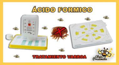 VAPORIZADOR ÁCIDO FÓRMICO FAM 🐝🧡🎥 Tratamiento Varroa