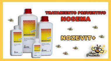 Nozevit 🐝🧡🎥 Tratamiento preventivo Nosema