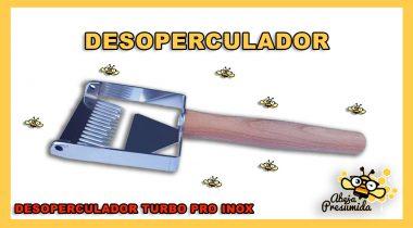 Desoperculador Turbo Pro Inox 🐝🧡🎥