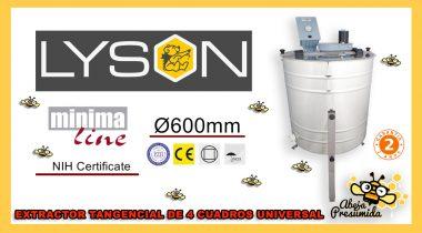 Extractor Lyson 🐝🧡🎥 minima line